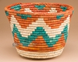"Native American Style Planter Basket 8.5"" (a42)"