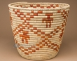 "Native American Style Planter Basket 10"" (a42)"