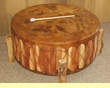 Native American Style Pow Wow Drum & Base 36x18