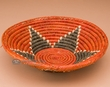 "Native American Style Saucer Basket 9"" (a53)"
