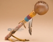 "Native American Rawide Rattle 12"" -Navajo (155)"
