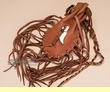"Native American Tsaligi Indian Medicine Bag 7"" -Carmel  (82)"