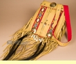 "Deluxe Native American Medicine Bag 11""  -Pueblo  (35)"