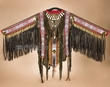 Native American Warrior Shirt Wall Hanging 64x40  (ws1)