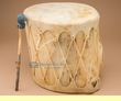 "Native Aspen Cowhide Drum 14""x13.5""  (LD10)"