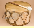 "Native Aspen Log Drum 13.5x7.5""   (pd30)"
