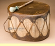 "Native Aspen Log Drum 14.5""x8"" -Sweat Lodge  (pd2)"