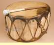 "Native Aspen Log Drum 15.25x8""   (pd31)"