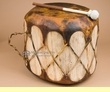 "Native Log Drum 15.5""x12""  (pd22)"