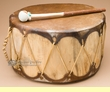 "Native Aspen Log Drum 14x8""   (pd30)"