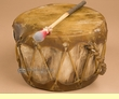 "Native Aspen Log Drum 9.5x5.5""   (pd63)"