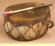 "Native Aspen Log Drum 9.5x5.5""   (pd66)"