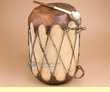 "Native Cowhide Log Drum 11x16""  (pd50)"