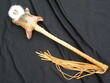Native Inuit Style Rawhide Rattle