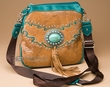 Native Southwestern Messenger Style Purse   (p472)