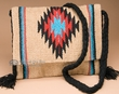 Native Style Southwest Woven Purse 15x12 -Tan  (p464)