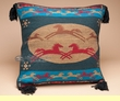 Native Style Southwestern Pillow Cover 18x18 -Ponies