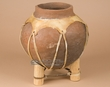 "Rustic Native Tarahumara Indian Clay Vase 9.25""  (175)"