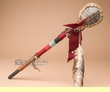 Old Style Pueblo Indian Turtle Shell Rattle (82)