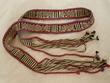 "Native Tarahumara Indian Faja Belt - 7'-6""  (2)"
