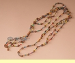 Native Navajo Indian Ghost beads -Multicolor  (j138)