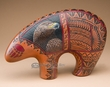"Navajo American Indian Pottery Bear 12x8"" -Eagle  (p294)"