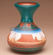 "Navajo American Indian Pottery Vase 5"" -Monument  (p215)"