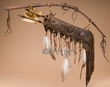 "Navajo Deer Skin Bow & Quiver 28"" -Scout  (B37)"