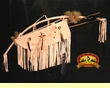 "Navajo Curtis Bitsui Bow, Quiver & Knife 44"" -White (B37) CLEARANCE"