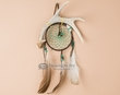 "Navajo Indian Antler Dreamcatcher 4"" -Green  (dc4-10)"