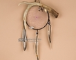 "Navajo Indian Antler Dreamcatcher 6"" hoop -Purple  (dc6-56)"