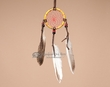 "Navajo Indian Buffalo Bone Dream Catcher 2.5""  (dc25-4)"