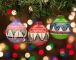 Navajo Indian Christmas Ornaments -3 Piece Set  (o20)