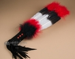 """Navajo Indian Exotic Smudging Fan 16""""  (f84)"""
