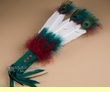 "Navajo Indian Feather Smudging Fan 16""  (fan83)"