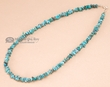 "Navajo Indian Hand Beaded Necklace 17""  (64)"