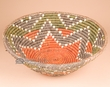 "Navajo Indian Style Basket 15""x5.25"" (g)"