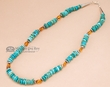 "Navajo Indian Beaded Necklace 20""  (124)"