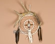 "Navajo Medicine Wheel Dream Catcher 6""  (dc6-99)"