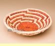"Navajo Style Saucer Basket 8"" (a52)"