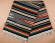 Hand Woven Mexican Style Zapoteca Blanket 5x7  (b31-6)