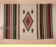 Old Style Zapoteca Mexican Blanket 5x7 (b30-5)
