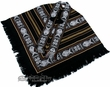 Otavalo Indian Woven Pancho -Midnight Black  (p12)