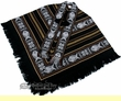 Otavalo Indian Woven Poncho -Midnight Black  (p12)