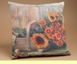 "Outdoor Climaweave Pillow 18"" -Harvest Moon"