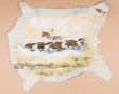 Painted Hair on Hide 30x26 -Cattle Drive (23)