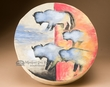 "Painted One Sided Tarahumara Hand Drum 16""  -Buffalo"