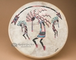 "Painted Tarahumara Drum -16"" Kokopelli  (56)"