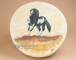 "Painted Tarahumara Drum 16"" -Painted Pony  (pd57)"