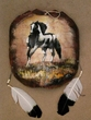 "Painted Turtle Shell Mandella 13""x15"" -Painted Pony   (13)"